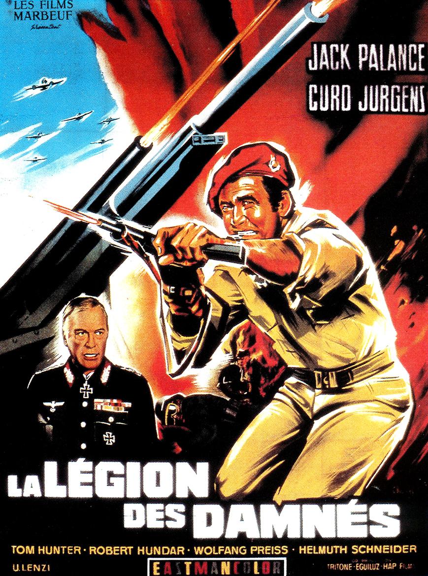 La légion des damnés - La Legione dei dannati - 1969 - Umberto Lenzi Lc3a9gion