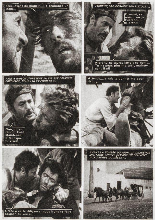 EN HOMMAGE AUX 84 ANS DE CLINT, CETTE PAGE DE «STAR CINÉ AVENTURES» CONSACRÉ À «LE BON, LA BRUTE, E TRUAND» ET PUBLIÉ EN 1973.