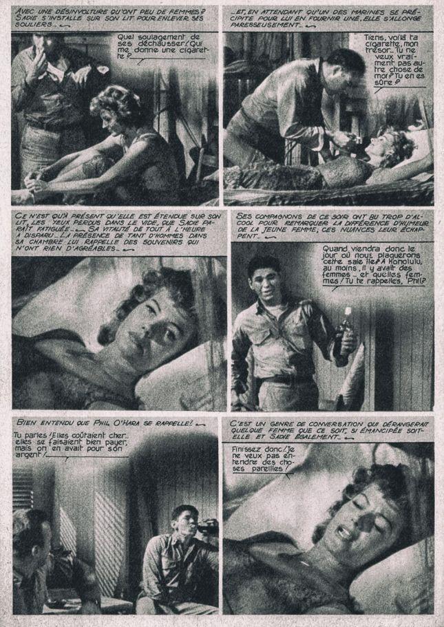 CHARLEY PARLE DANS CETTE PAGE DE «LES FILMS POUR VOUS» CONSACRÉ À «LA BELLE DU PACIFIQUE» ET PUBLIÉ EN 1961.