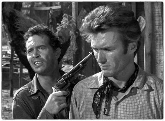 WARREN OATES ET CLINT EASTWOOD