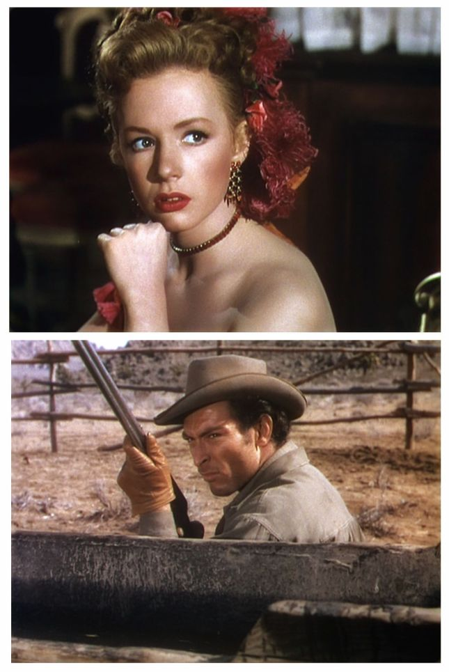 PIPER LAURIE ET LEE VAN CLEEF