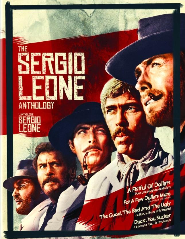 COFFRET BLU-RAY SERGIO LEONE EN MAI AUX U.S.A. RIEN DE NOUVEAU, MAIS UNE JOLIE JAQUETTE...