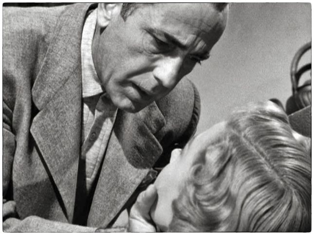 HUMPHREY BOGART ET GLORIA GRAHAME