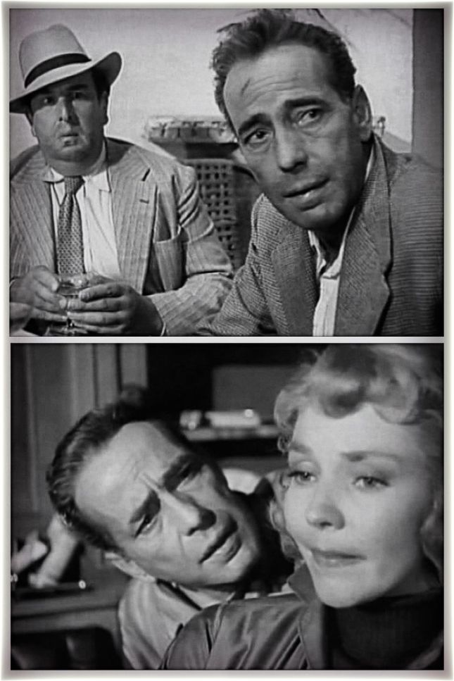 ROBERT MORLEY, HUMPHREY BOGART ET JENNIFER JONES
