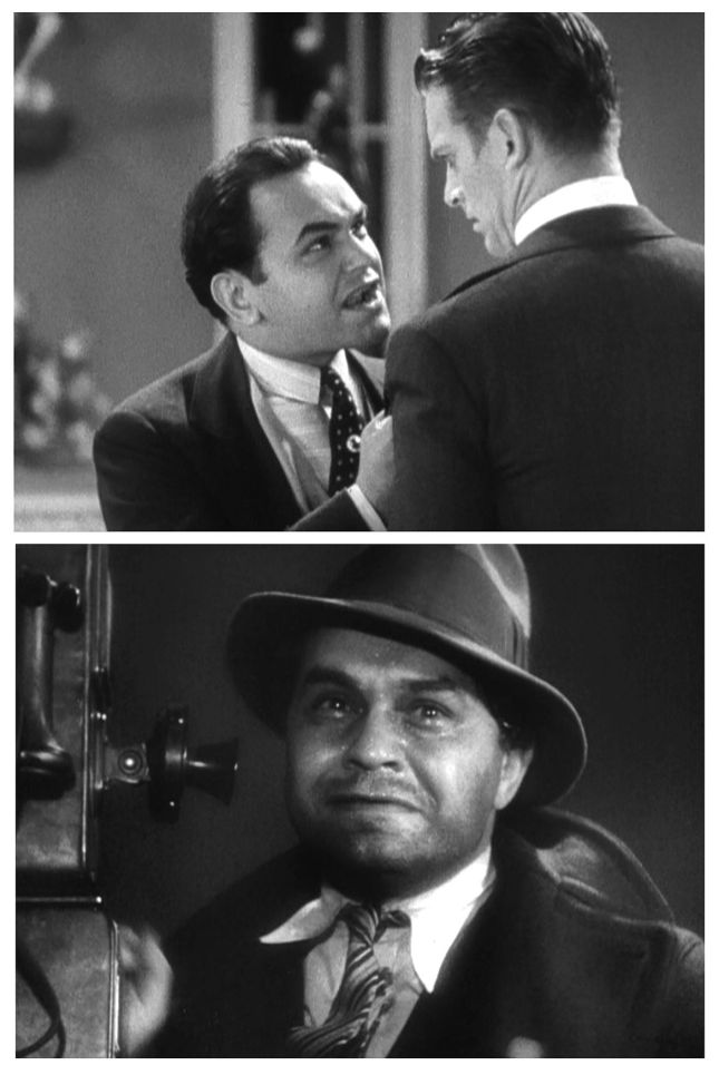 EDWARD G. ROBINSON ET DOUGLAS FAIRBANKS, JR.