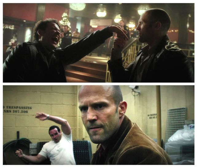 JASON STATHAM EN ACTION...