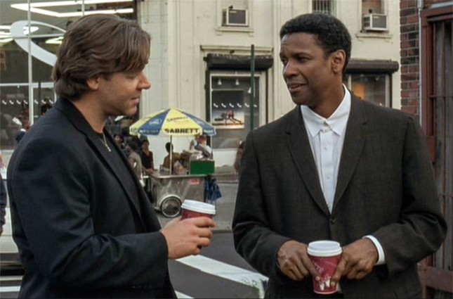 RUSSELL CROWE ET DENZEL WASHINGTON