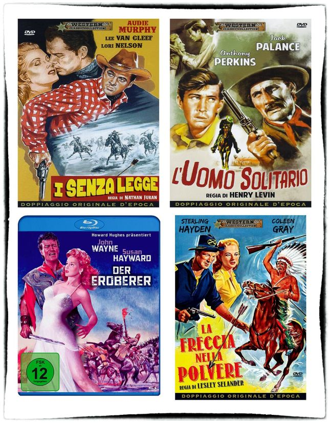 «QUI EST LE TRAÎTRE ?», «JICOP LE PROSCRIT», LE CONQUÉRANT» ET «EMBOSCADO», 4 FILMS DES DÉBUTS DE LEE VAN CLEEF, SORTIS EN DVD ET BLU-RAY !