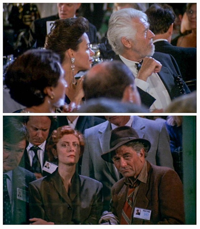 JAMES COBURN, SUSAN SARANDON ET PETER FALK