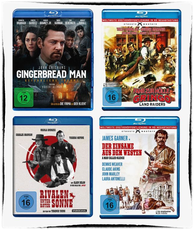 QUELQUES SORTIES BLU-RAY IMMINENTES EN ALLEMAGNE : COPPOLA, SAVALAS, MIFUNE, BRONSON ET GARNER...