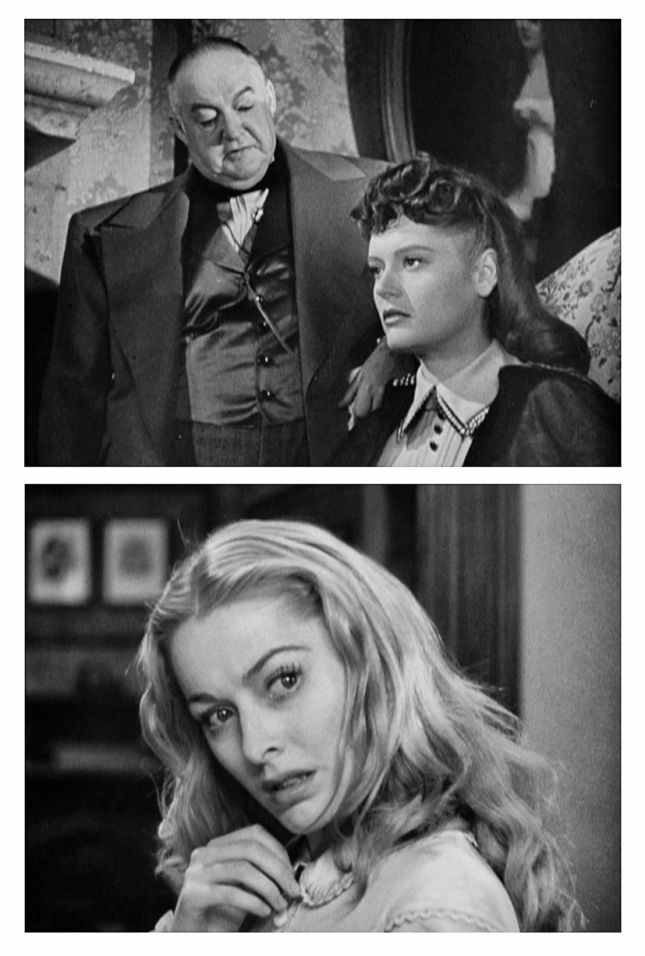 SIDNEY GREENSTREET, ALEXIS SMITH ET ELEANOR PARKER